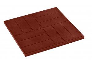Шахматки тротуарная   плитка   полимерпесчаная (22мм)